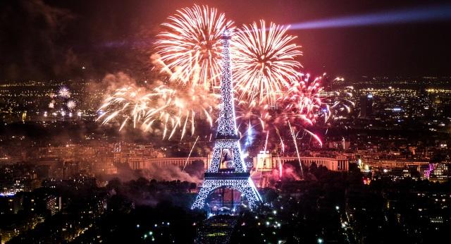 Tour Eiffel - Nouvel An